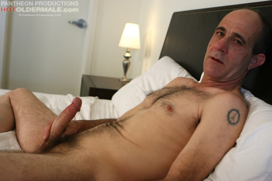 mature gay man solo masturbation