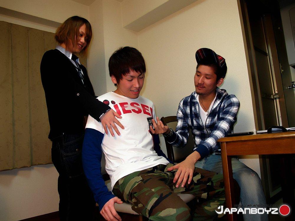 Young gay boy orgy