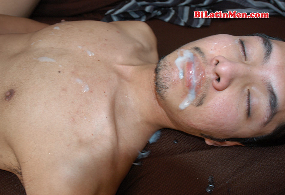 Latin Boy Outdoor With Facial